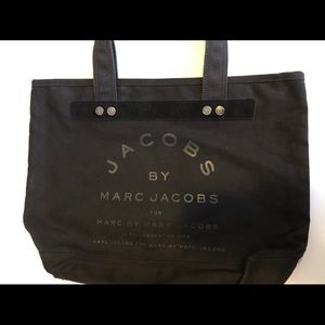Marc by Marc Jacob - black canvas tote - used